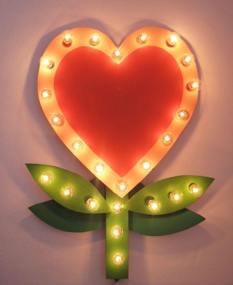 Lightup heart